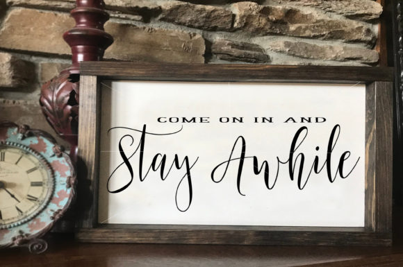 Farmhouse Style Sign Bundle Graphic Illustrations By Valerie Greer - Image 6
