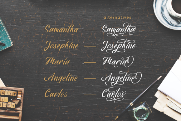 Fideally Font By Lutfi - 7NTypes Image 2