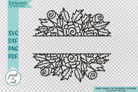 Floral Wedding Sign Svg Graphic By Cornelia Image 2