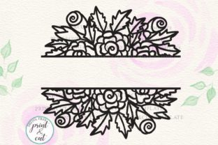 Floral Wedding Sign Svg Graphic By Cornelia