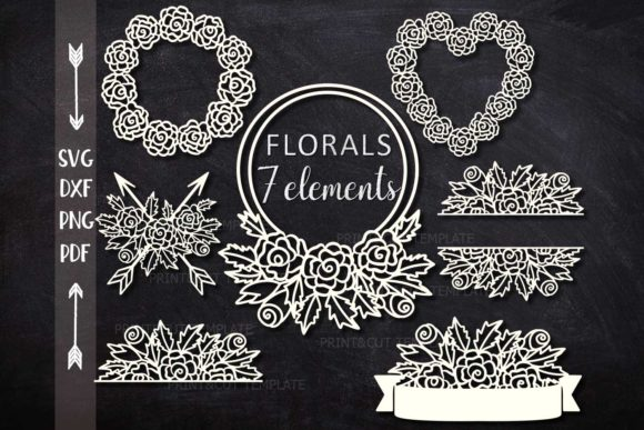 Florals Mega Bundle Graphic Crafts By Cornelia