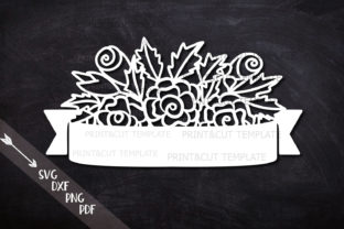 Flowers Svg Banner Graphic By Cornelia