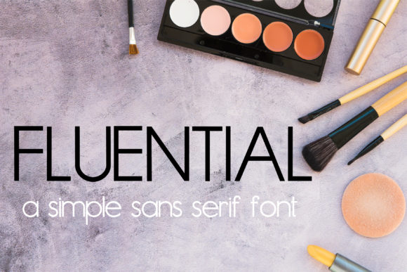 Fluential Sans Serif Font By Illustration Ink