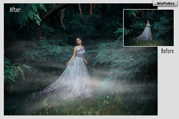 Print on Demand: Fog Photo Overlays Graphic Layer Styles By MixPixBox - Image 3