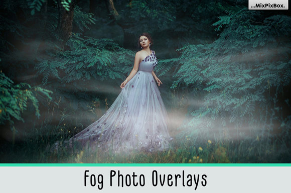 Print on Demand: Fog Photo Overlays Graphic Layer Styles By MixPixBox