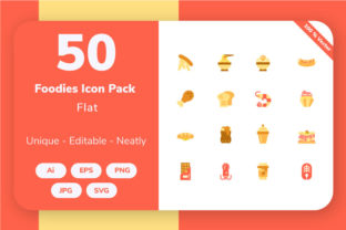 Food and Beverage - Flat Graphic By Icon Stale