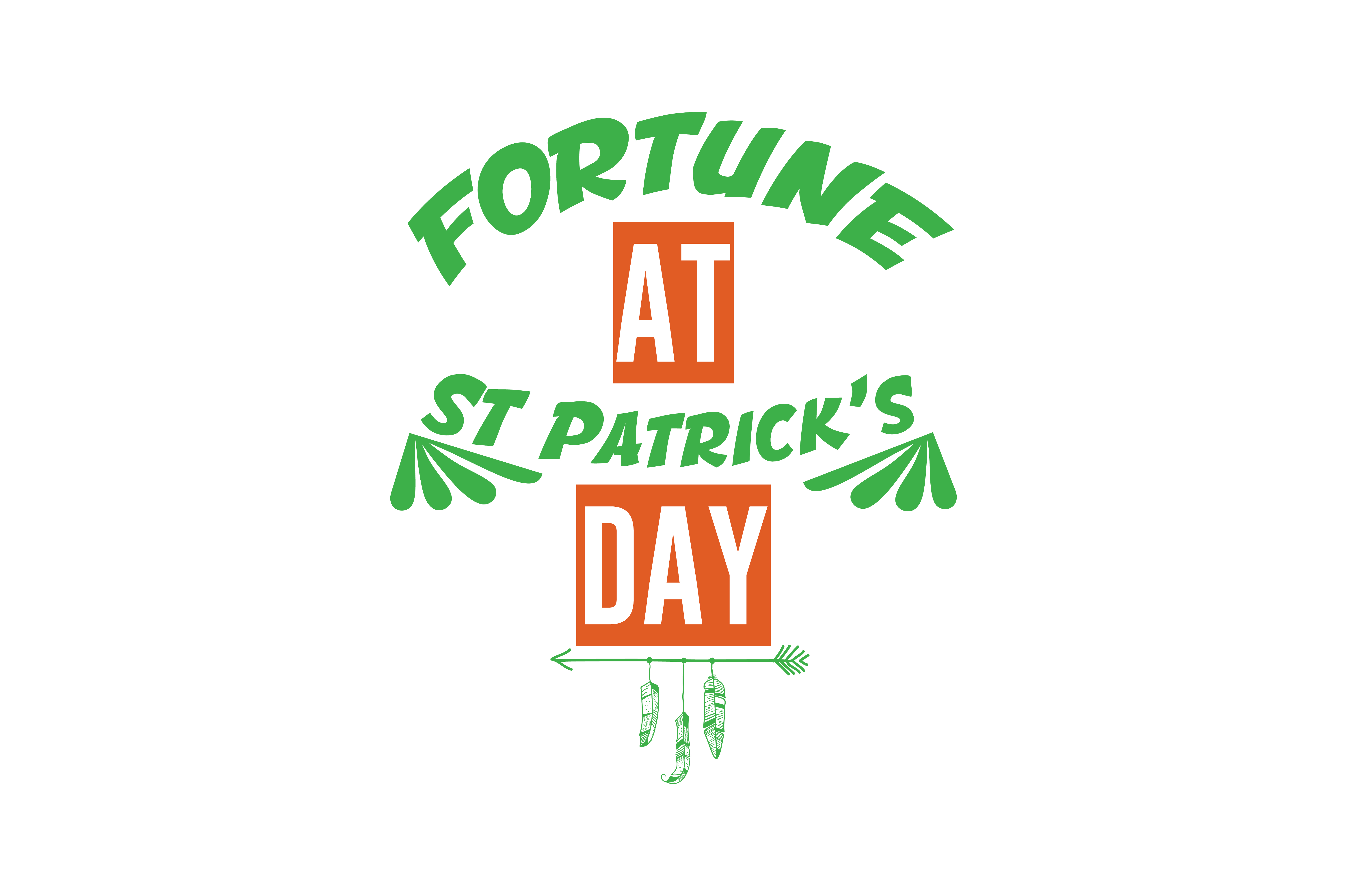 Download Free Fortune At St Patrick S Day Quote Svg Cut Graphic By Thelucky for Cricut Explore, Silhouette and other cutting machines.