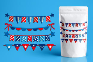 Fourth of July Banners Graphic By Revidevi