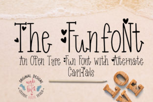 Funfont Font By GraphicHouseDesign