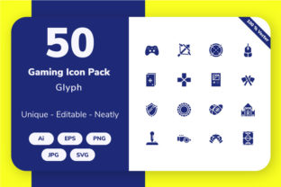 Gaming  - Glyph Graphic By Icon Stale