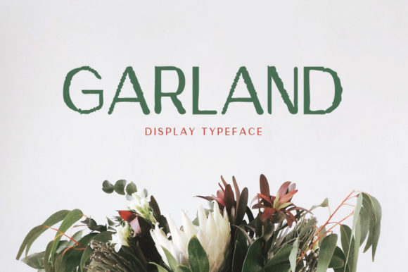 Print on Demand: Garland Display Font By Spanking Fonts