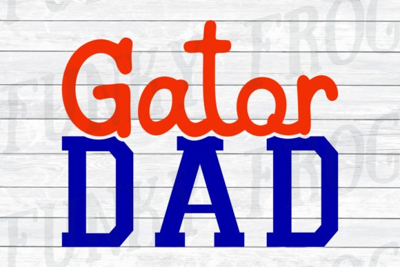 Download Free Gator Mom And Gator Dad Svg Graphic By Funkyfrogcreativedesigns for Cricut Explore, Silhouette and other cutting machines.