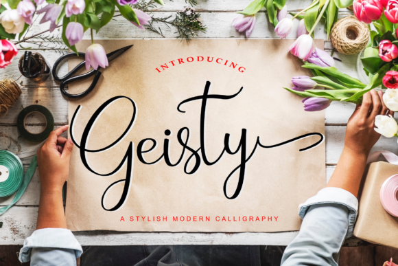 Geisty Font By R. Studio Image 1