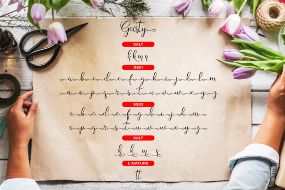 Geisty Font By R. Studio Image 7