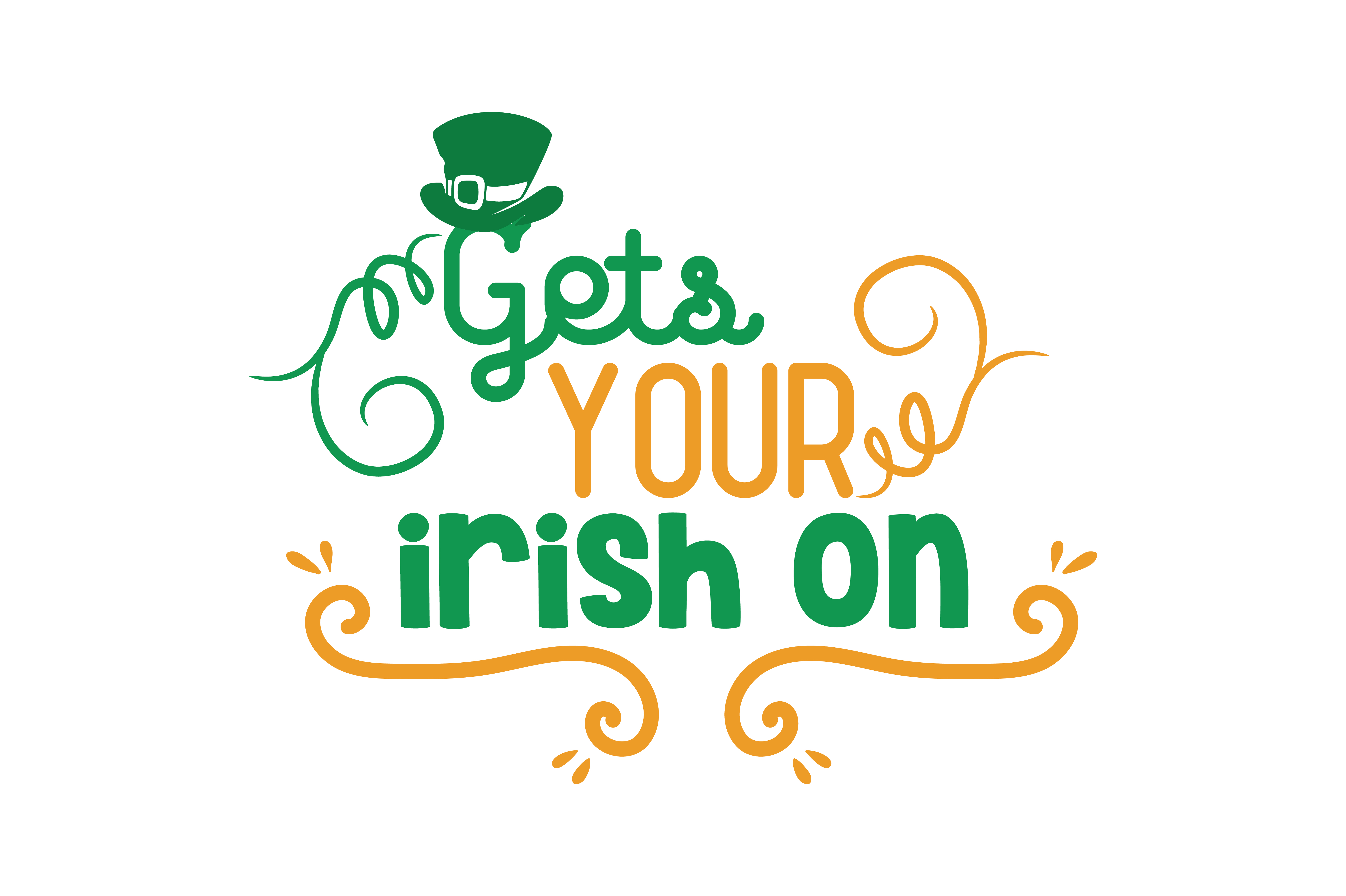 Download Free Gets Your Irish On Quote Svg Cut Graphic By Thelucky Creative SVG Cut Files