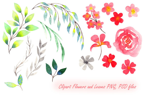 Print on Demand: Girly Bag Essentials Watercolor Collection Graphic Illustrations By tanatadesign - Image 5