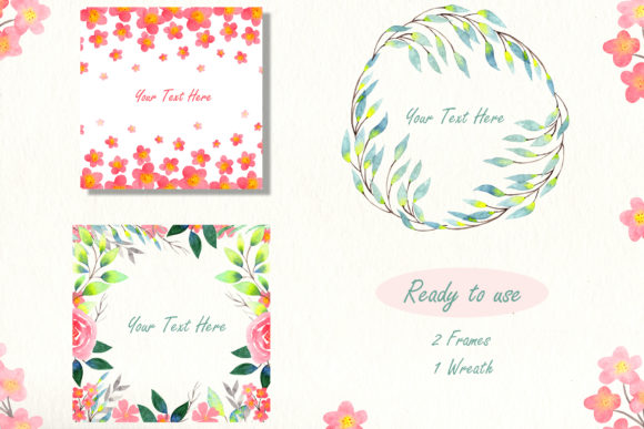 Print on Demand: Girly Bag Essentials Watercolor Collection Graphic Illustrations By tanatadesign - Image 8