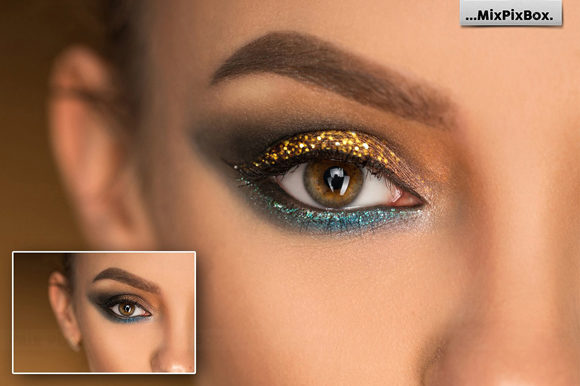 Print on Demand: Glitter Photo Overlays Graphic Layer Styles By MixPixBox - Image 3