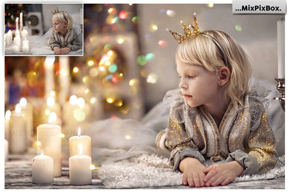 Print on Demand: Glitter Photo Overlays Graphic Layer Styles By MixPixBox - Image 4