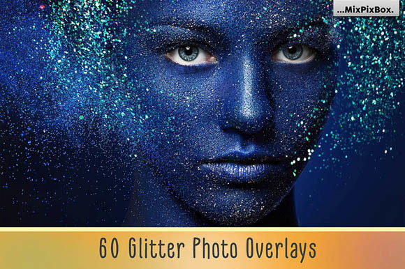 Print on Demand: Glitter Photo Overlays Graphic Layer Styles By MixPixBox - Image 1