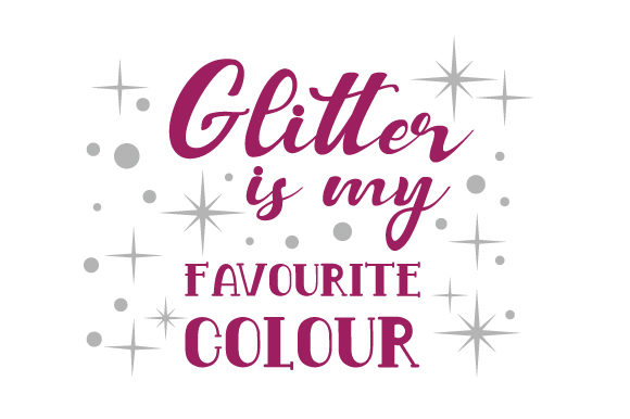 quality design 8aad3 ba735 Glitter is my favourite colour
