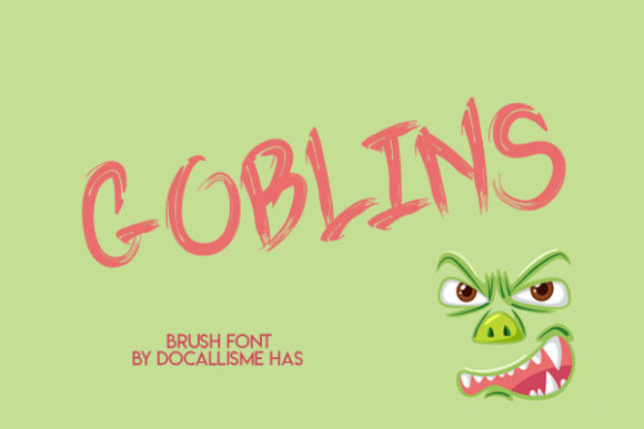 Print on Demand: Goblins Blackletter Font By Docallisme