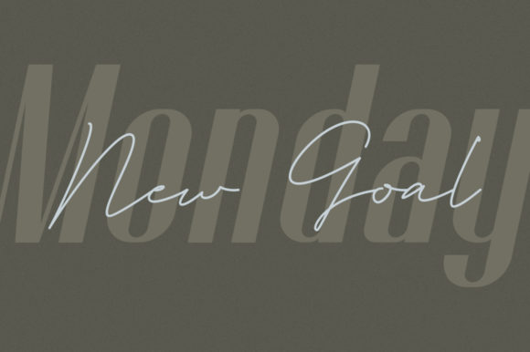 Print on Demand: Godhand Athens Family Script & Handwritten Font By Letteratom - Image 4