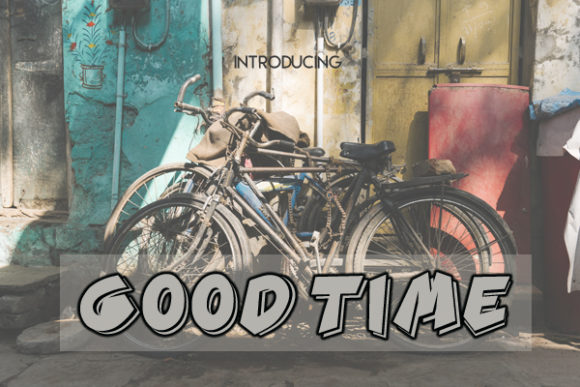 Print on Demand: Good Time Blackletter Font By Docallisme