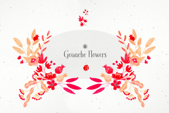Gouache Flowers Graphic Illustrations By webvilla - Image 4