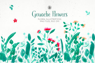 Gouache Flowers Graphic By webvilla