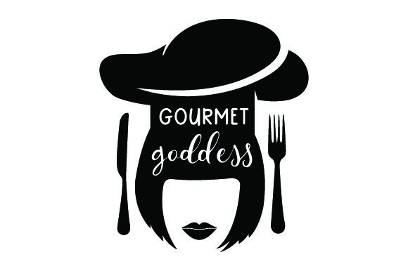 Gourmet Goddess Kitchen Craft Cut File By Creative Fabrica Crafts - Image 1