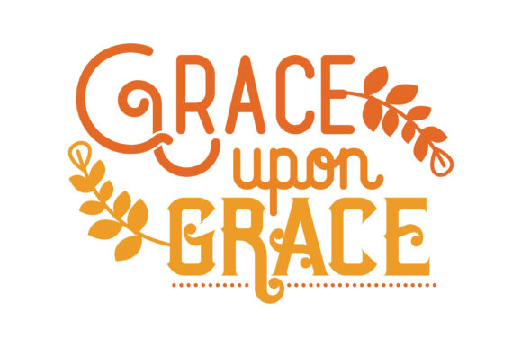 Download Free Grace Upon Grace Svg Cut Quote Graphic By Thelucky Creative SVG Cut Files