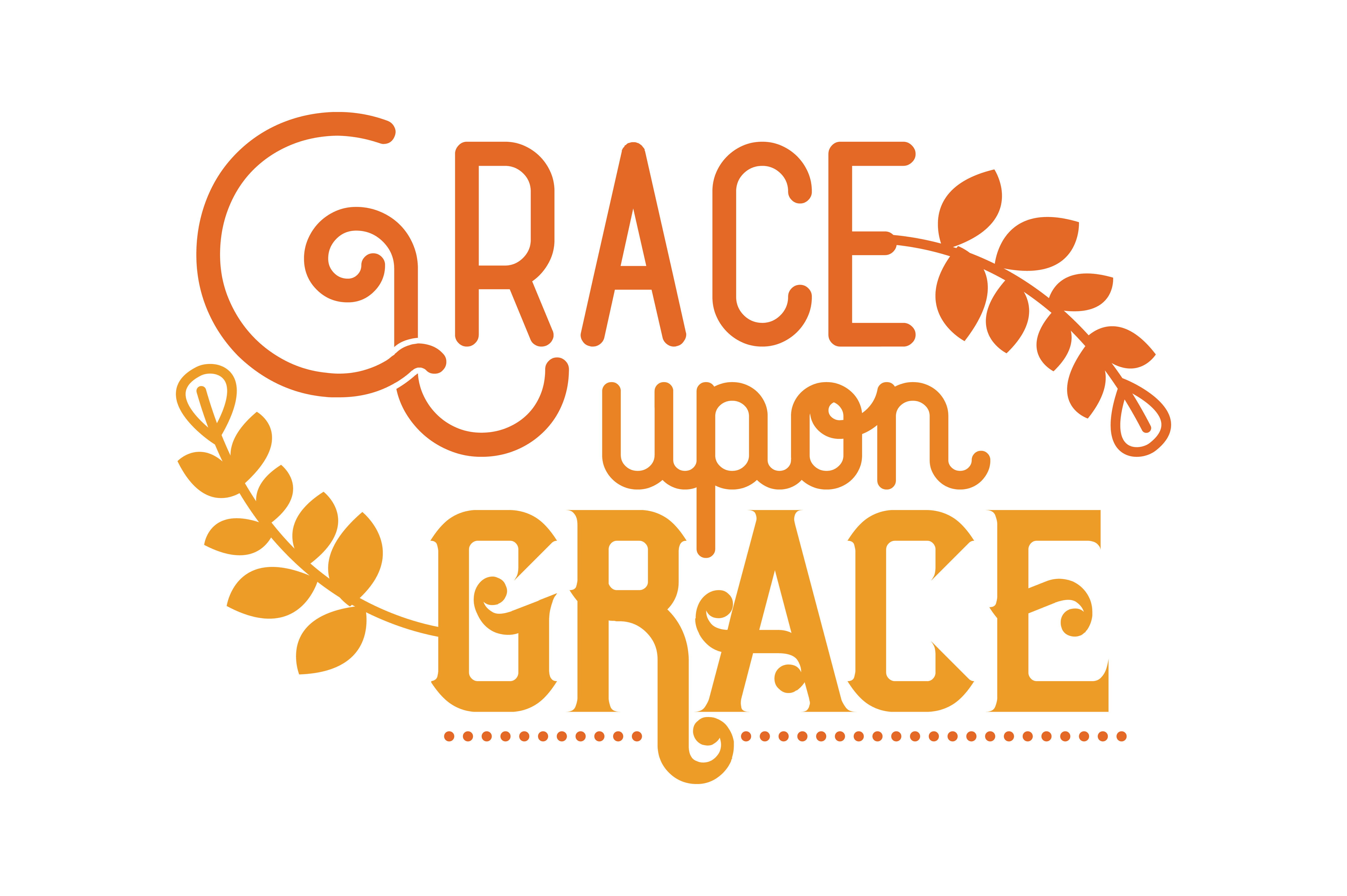 Grace Upon Grace Svg Cut Quote Graphic By Thelucky Creative Fabrica