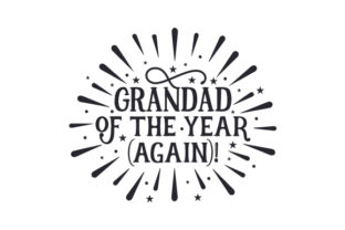 Grandad of the Year (again)! Craft Design By Creative Fabrica Crafts