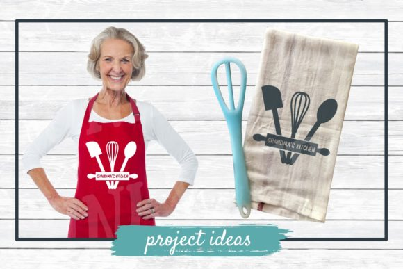 Download Free Grandma S Kitchen Graphic By Funkyfrogcreativedesigns Creative for Cricut Explore, Silhouette and other cutting machines.