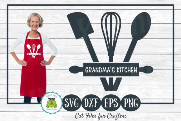 Grandma's Kitchen SVG Grafik Designvorlagen von funkyfrogcreativedesigns
