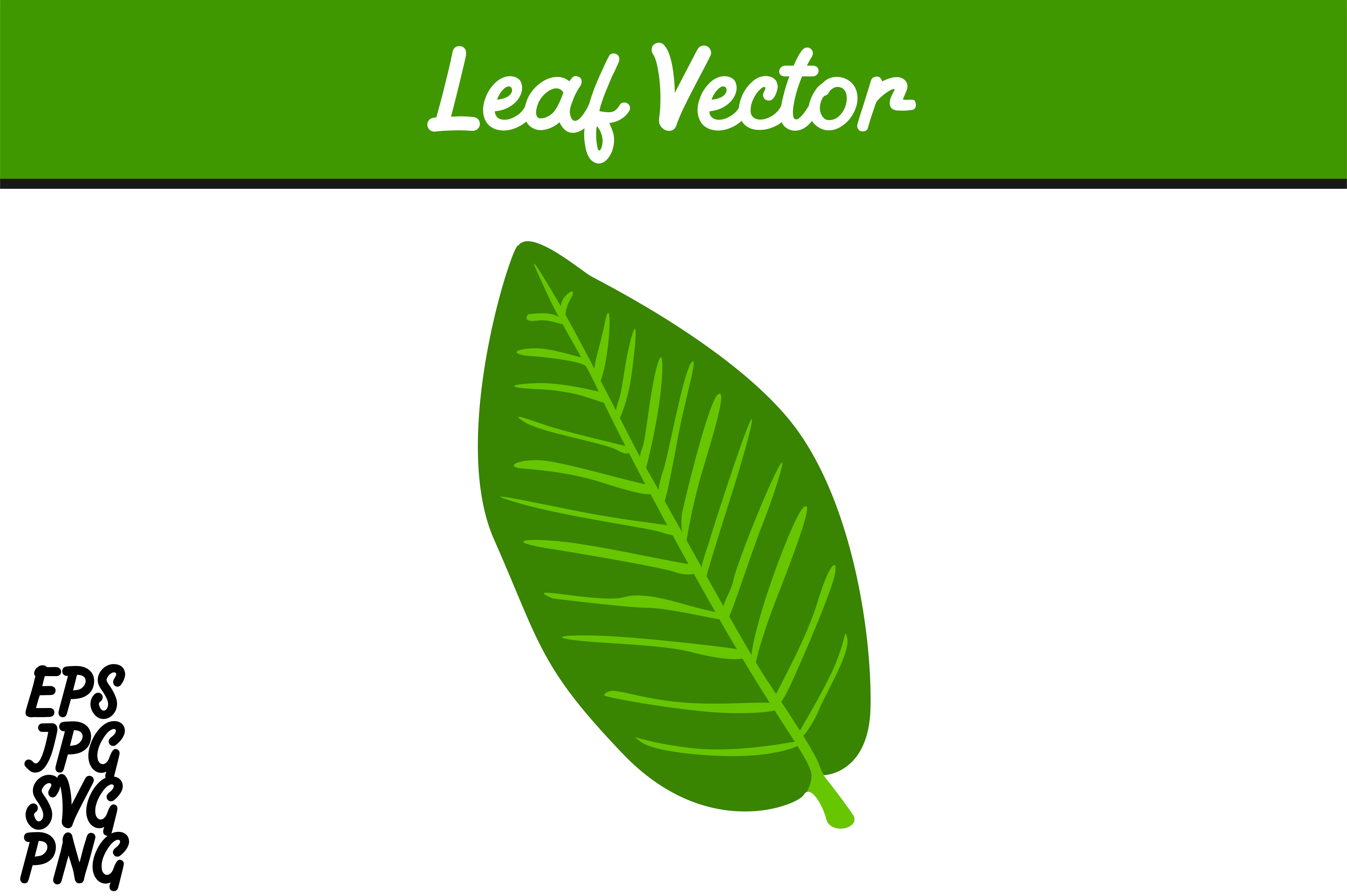 Download Free Green Leaf Svg Vector Image Graphic By Arief Sapta Adjie for Cricut Explore, Silhouette and other cutting machines.