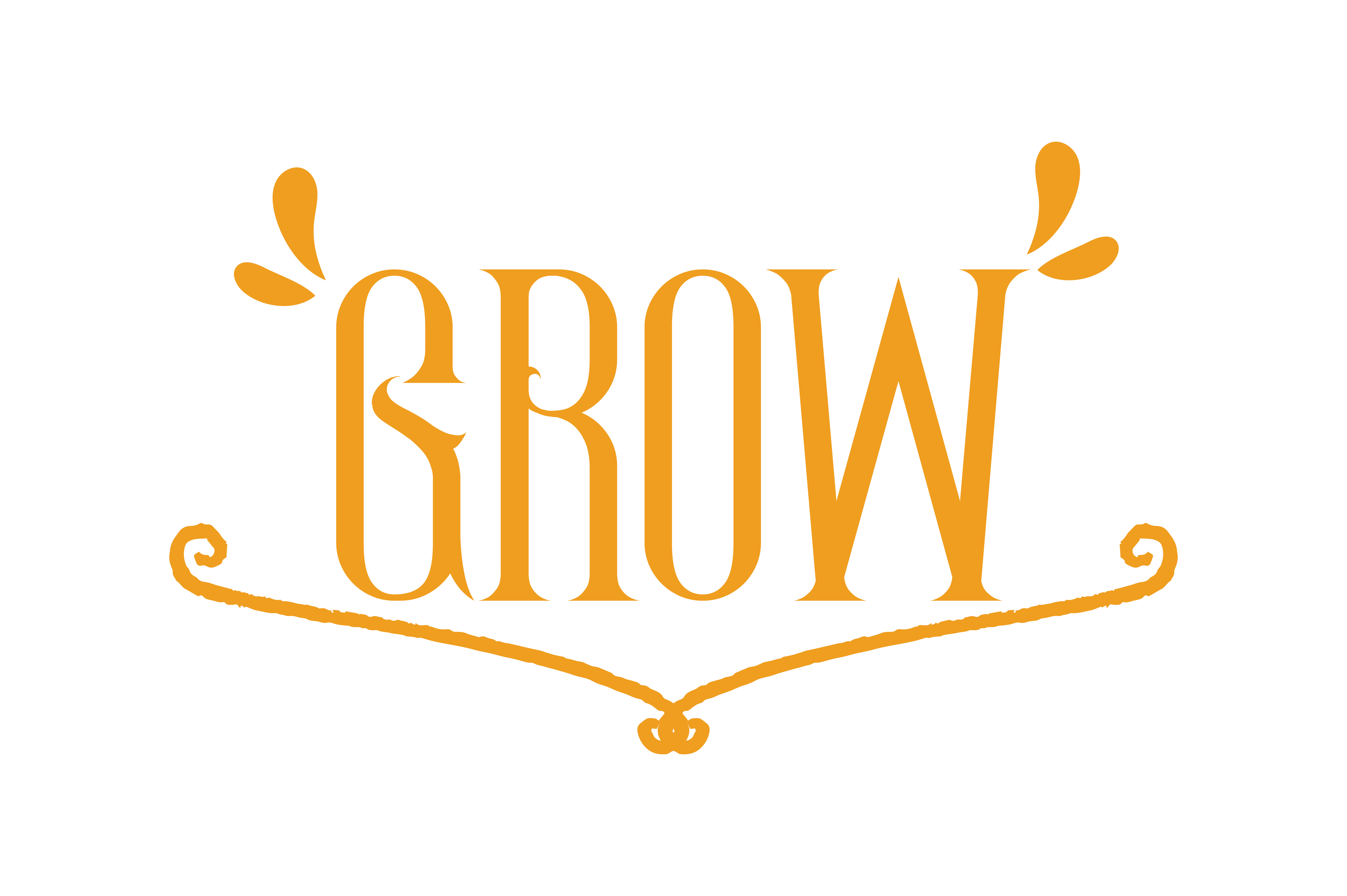 Download Free Grow Quote Graphic By Thelucky Creative Fabrica for Cricut Explore, Silhouette and other cutting machines.