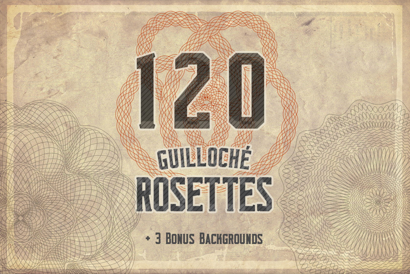 Download Free Guilloche 216 Elements Kit Graphic By Ramandu Creative Fabrica for Cricut Explore, Silhouette and other cutting machines.