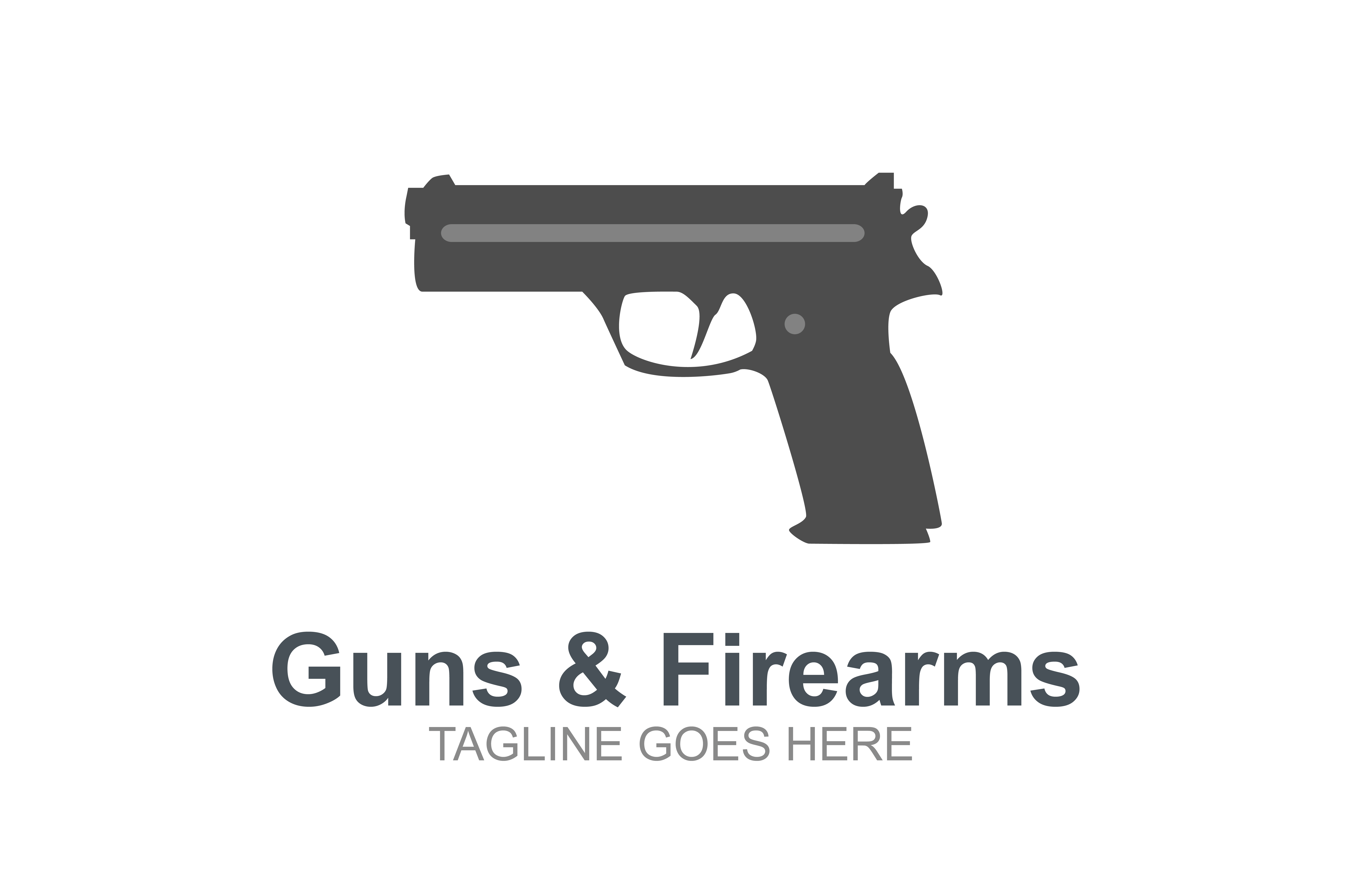 Download Free Guns And Firearms Logo Graphic By Guardesign Creative Fabrica for Cricut Explore, Silhouette and other cutting machines.