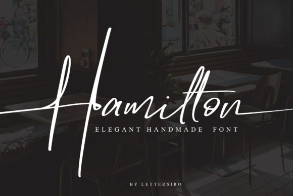 Print on Demand: Hamilton Script & Handwritten Font By Lettersiro Co.