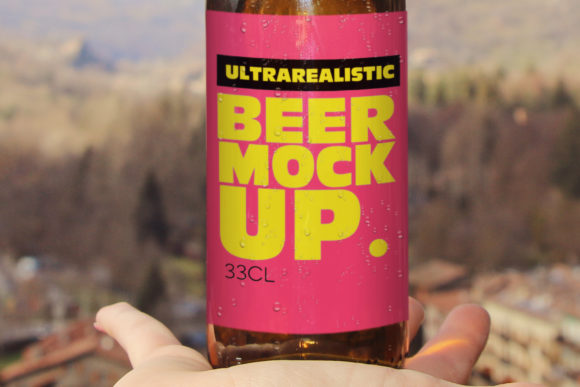 Hand Beer Mockup Graphic Product Mockups By SmartDesigns - Image 3