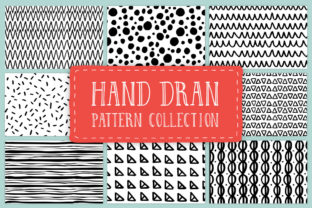 Hand Drawn Pattern Collection Graphic By anatartan