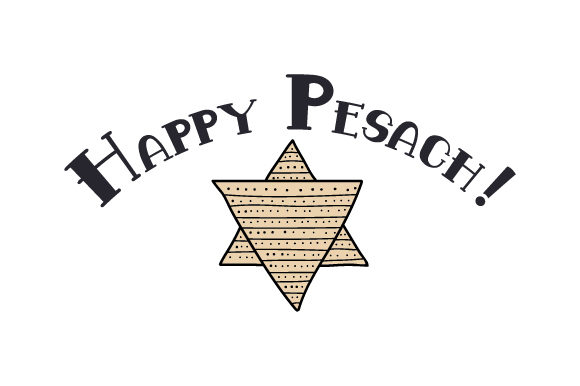 Happy Pesach! Jewish Craft Cut File By Creative Fabrica Crafts