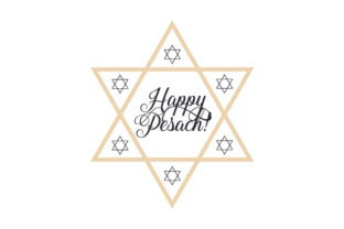 Happy Pesach! Craft Design By Creative Fabrica Crafts