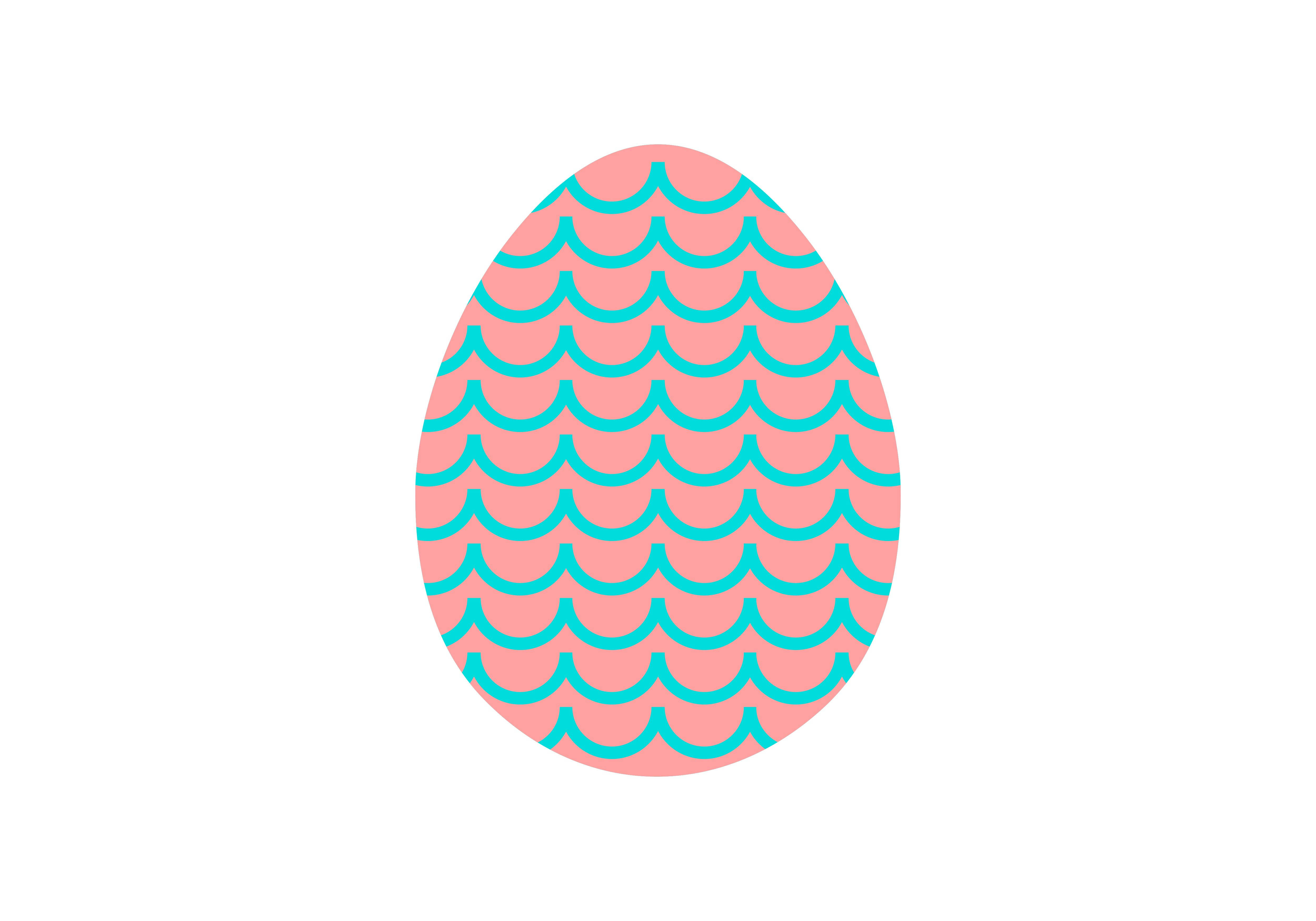 Download Free Happy Easter Egg Logo Vector Graphic By 2qnah Creative Fabrica for Cricut Explore, Silhouette and other cutting machines.