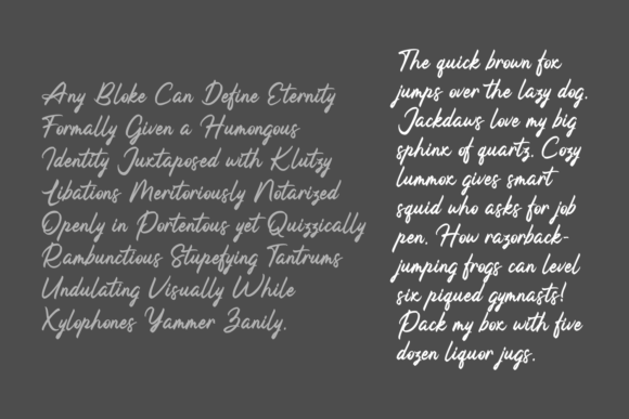 Print on Demand: Helga Rotera Script & Handwritten Font By Adyfo (7NTypes) - Image 5