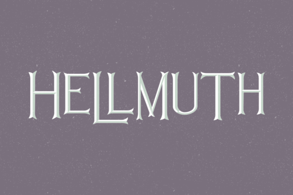Print on Demand: Hellmuth Family Decorative Font By laurenashpole