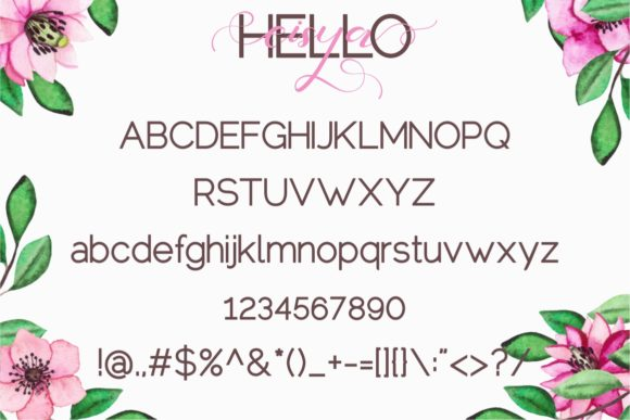 Hello Eisya Duo Font By putracetol Image 8