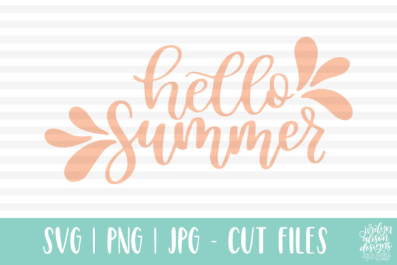 Hello Summer Graphic By jordynalisondesigns